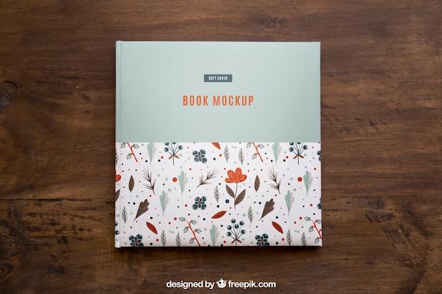 Mockup de libro