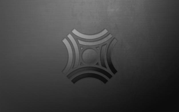 Mockup logo moderno 3d