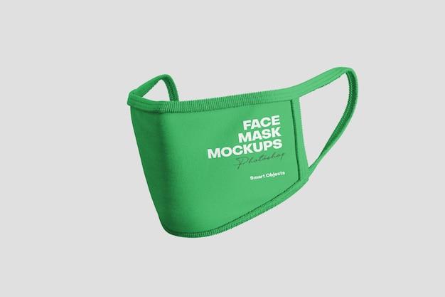 Mockup maschera viso