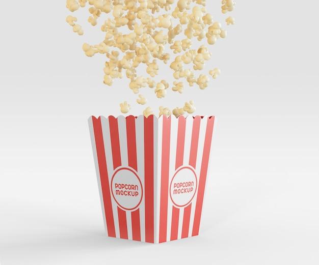Mockup met popcornemmer