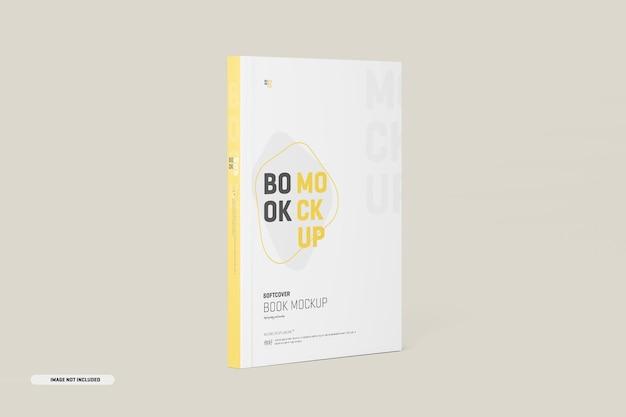 Mockup met softcover boekomslag