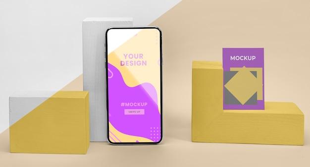 Mockup mobiel scherm