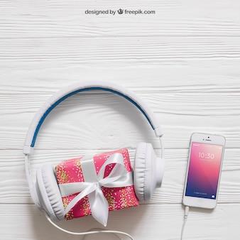 Mockup de música