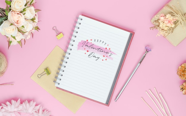Mockup notebook