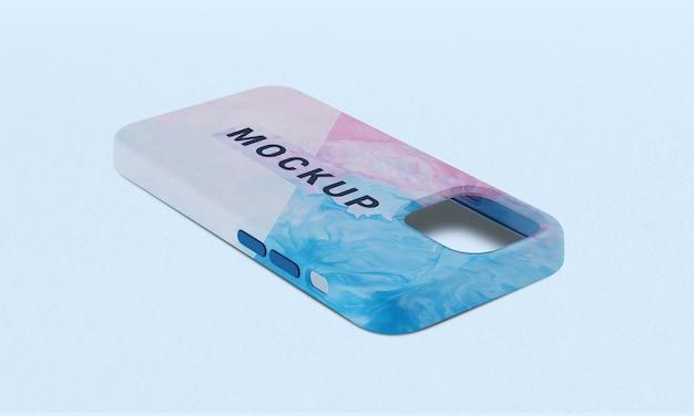 Mockup-ontwerp van de achterkant van de telefoon