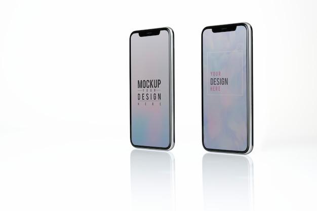 Mockup-ontwerp voor volledig scherm