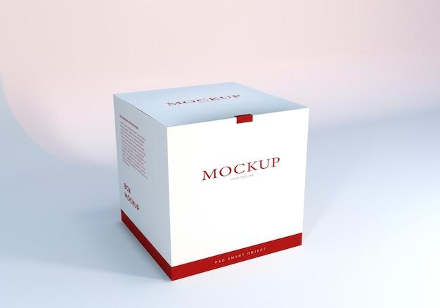 Mockup ontwerpsjabloon verpakking