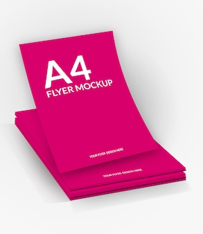 Mockup op a4-formaat