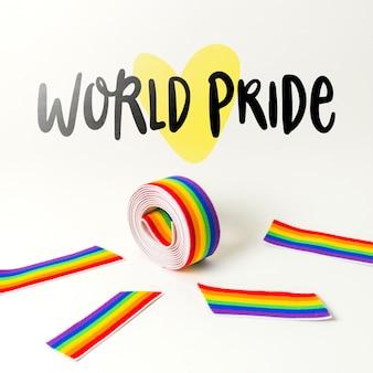 Mockup orgullo gay