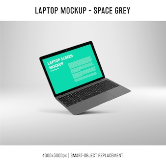 Mockup de pantalla de portátil