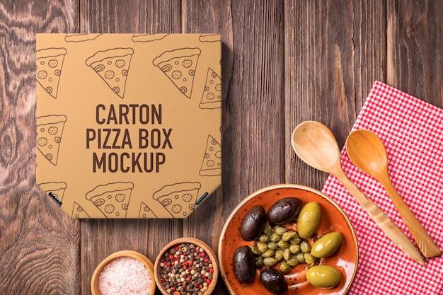 Mockup pizzadoos