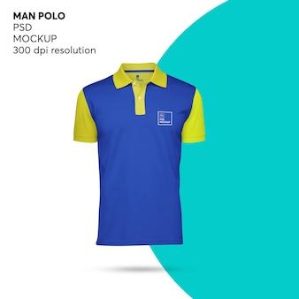 Mockup polo maschile