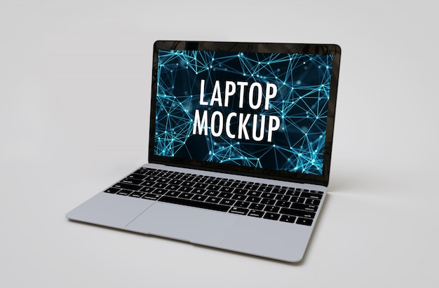 Mockup portatile realistico