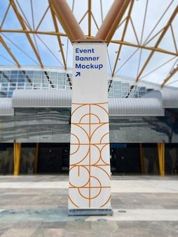 Mockup poster evenement promo