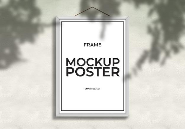 Mockup poster sjabloon