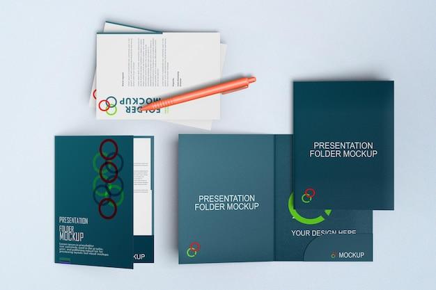 Mockup presentatiemap
