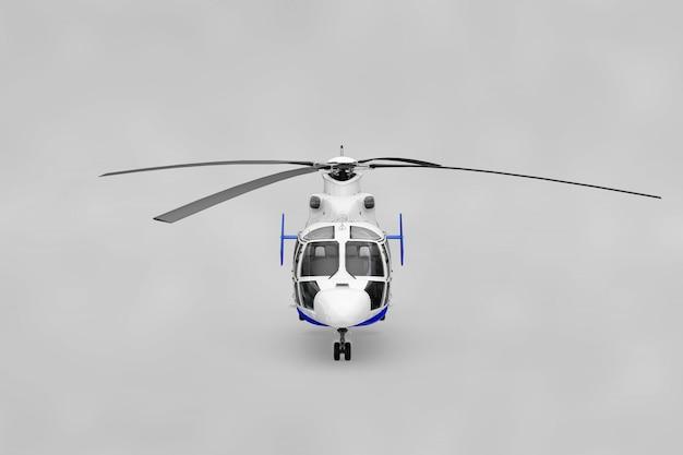 Mockup realistico dell'elicottero