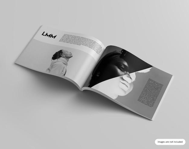 Mockup rivista di paesaggio