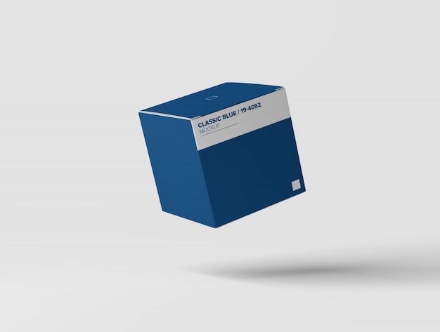 Mockup scatola quadrata