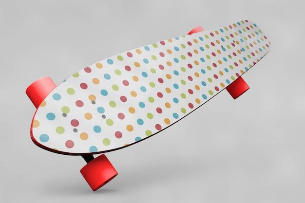 Mockup de skateboard