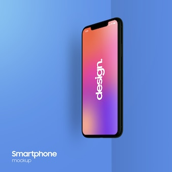 Mockup smartphone super realistico