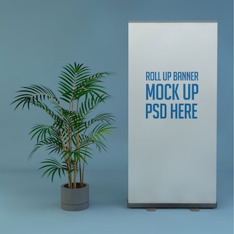 Mockup stand roll-up