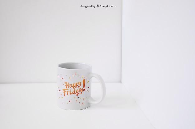 Mockup de taza de café