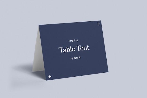Mockup tenda da tavolo