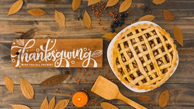 Mockup de thanksgiving