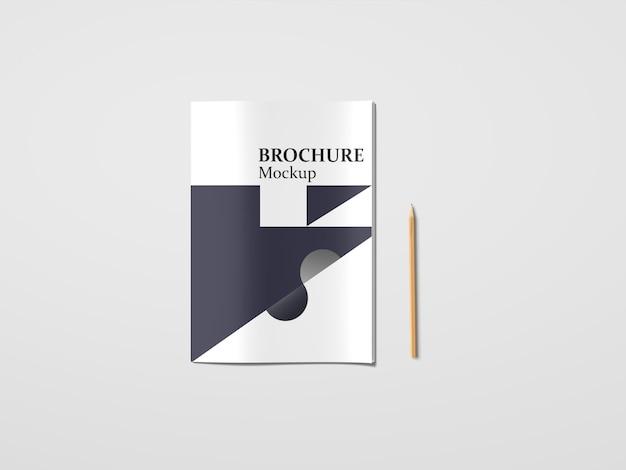 Mockup van a4-catalogi