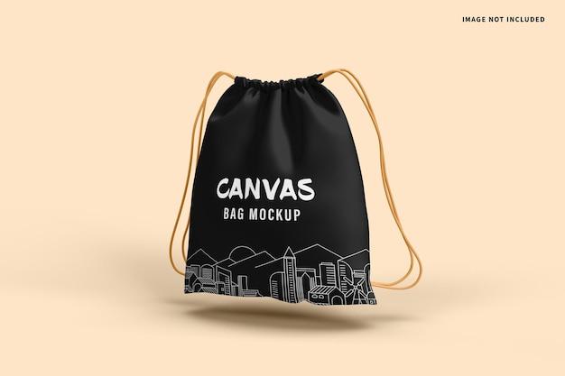Mockup van canvas tas