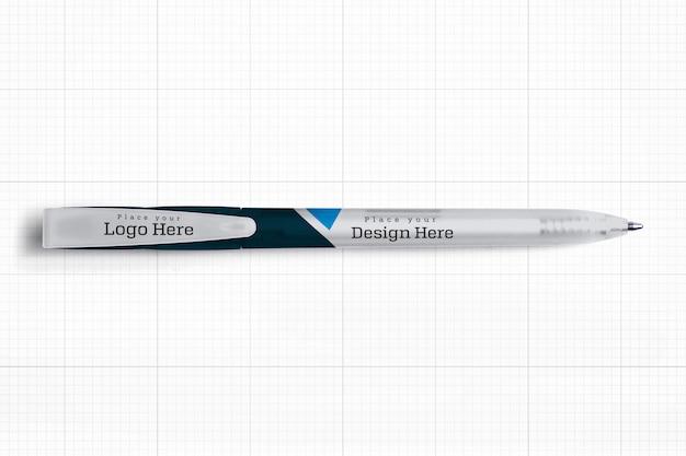 Mockup van de pen