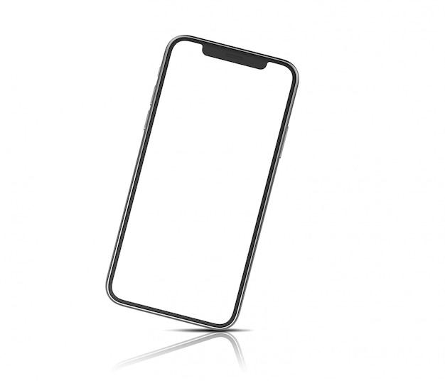 Mockup van een moderne smartphone