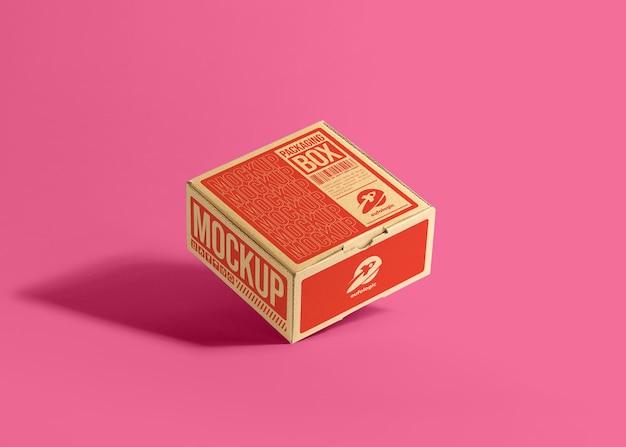 Mockup van kartonnen dozen
