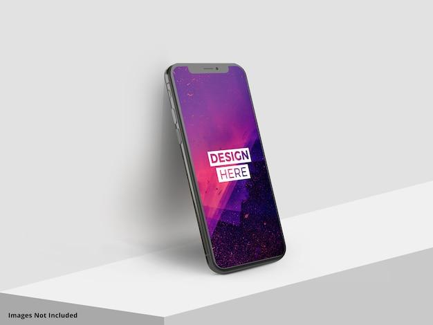 Mockup van smartphonescherm