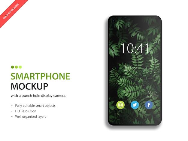 Mockup van smartphoneweergave
