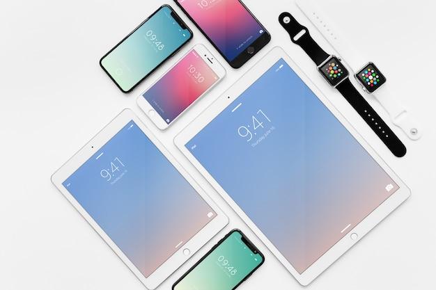 Mockup de varios dispositivos