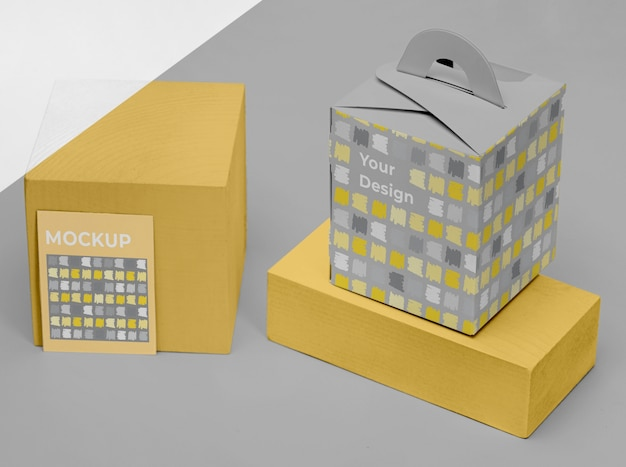 Mockup verpakking