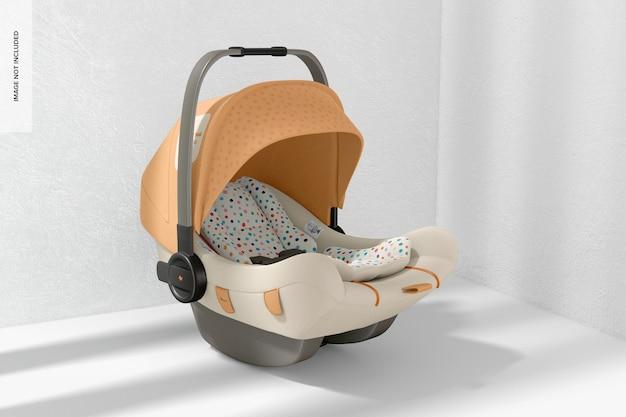 Mockup voor baby-autostoeltjes