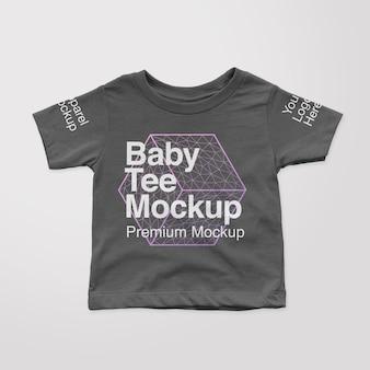 Mockup voor baby-t-shirts