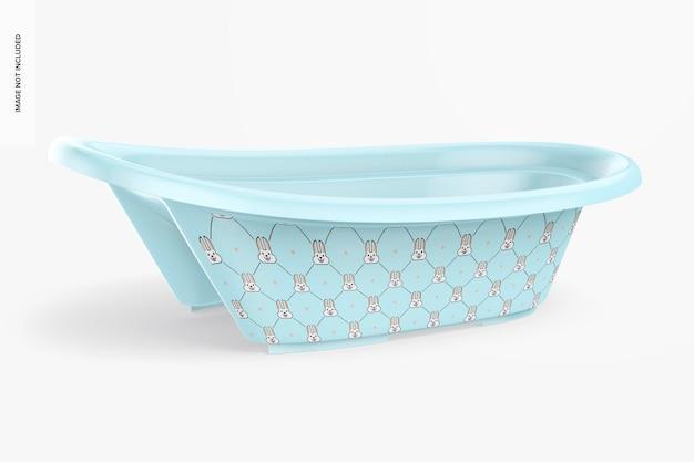 Mockup voor babybadkuip