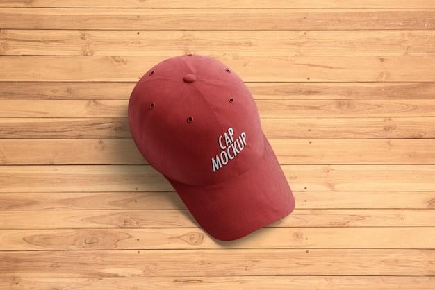 Mockup voor baseballcap