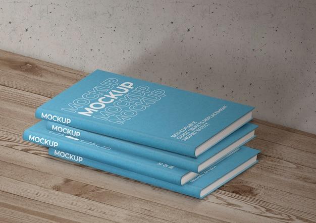 Mockup voor boekencollectie