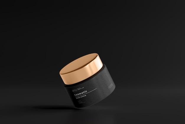 Mockup voor cosmetische pot