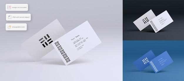 Mockup voor creatieve visitekaartjes