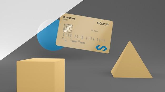 Mockup voor creditcard