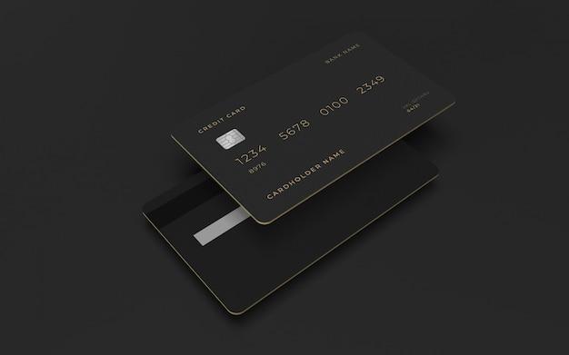 Mockup voor creditcardontwerp
