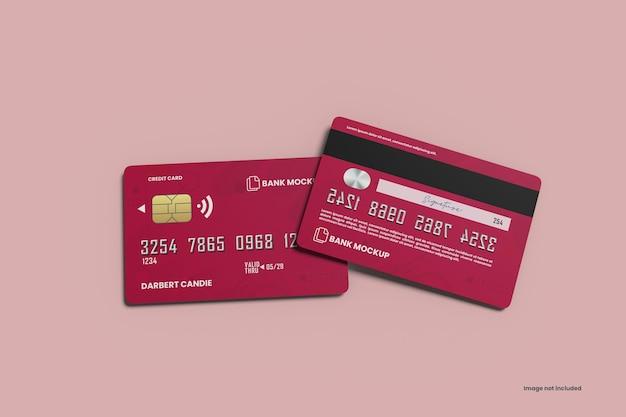 Mockup voor creditcards