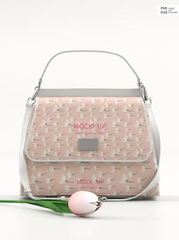 Mockup voor damestassen