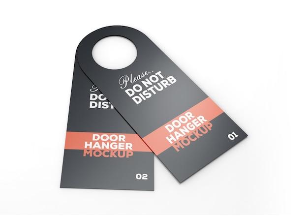 Mockup voor deurhanger